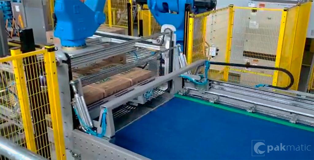 Encaixotadora e final de linha - Fábrica Cargill - Barreiras - BA