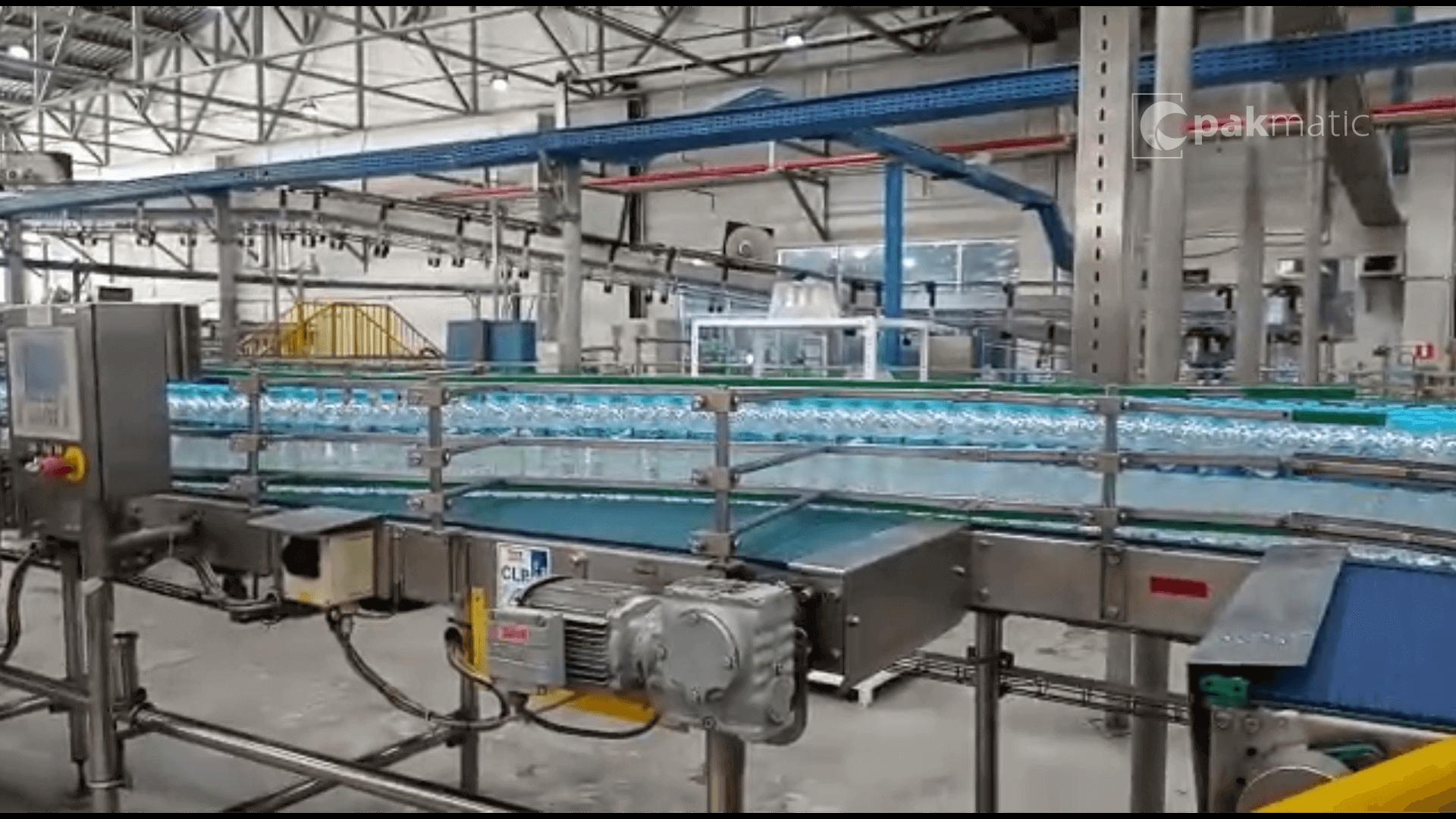 embaladora de garrafa pet de água mineral - fábrica - Mogi das cruzes - sp